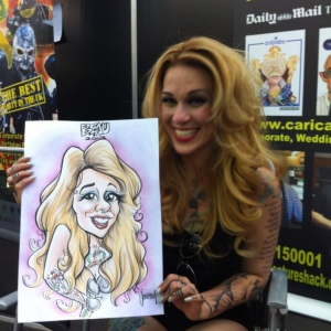 tattoo caricatures London