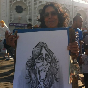 Brighton caricatures